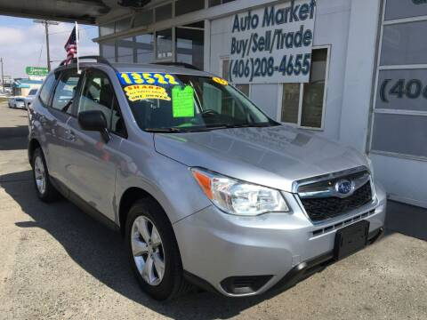 2015 Subaru Forester 2.5i for sale at Auto Market in Billings MT