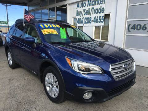 2015 Subaru Outback 2.5i Premium for sale at Auto Market in Billings MT