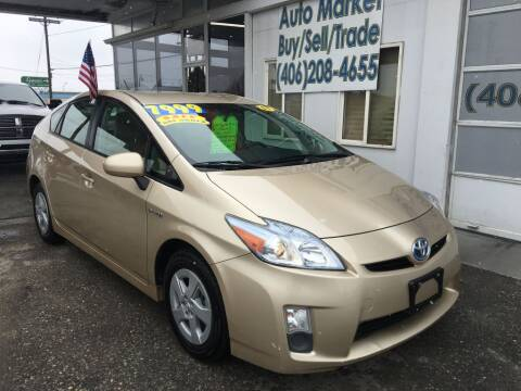 2011 Toyota Prius for sale at Auto Market in Billings MT