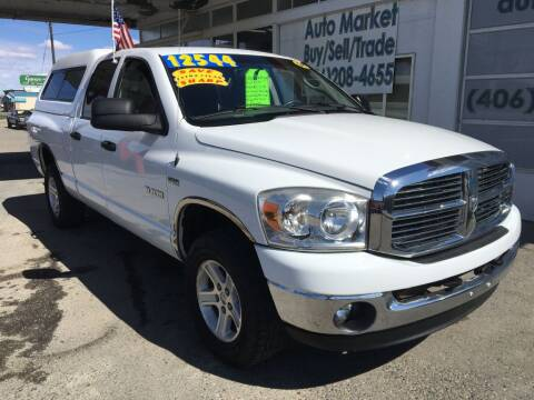 2008 Dodge Ram Pickup 1500 for sale at Auto Market in Billings MT