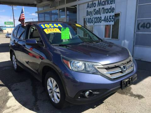 2013 Honda CR-V EX for sale at Auto Market in Billings MT