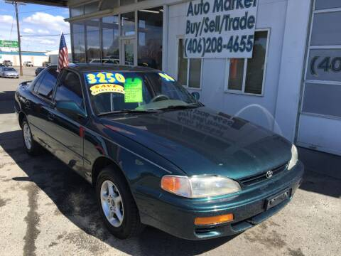 1996 Toyota Camry for sale at Auto Market in Billings MT