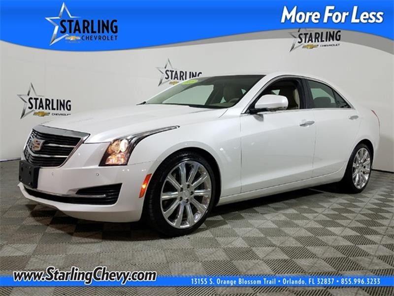 2015 Cadillac Ats 2 0t Luxury Pedro Starling Chevrolet