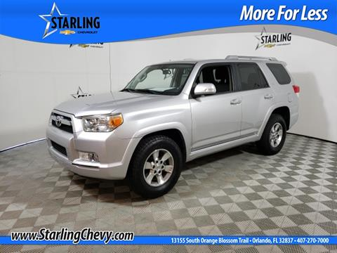 2013 Toyota 4runner For Sale >> 2013 Toyota 4runner For Sale In Orlando Fl
