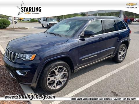 2018 Jeep Grand Cherokee for sale in Orlando, FL