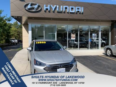 2019 Hyundai Elantra for sale in Jamestown, NY