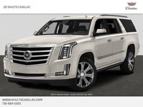 2015 Cadillac Escalade ESV for sale in Jamestown, NY