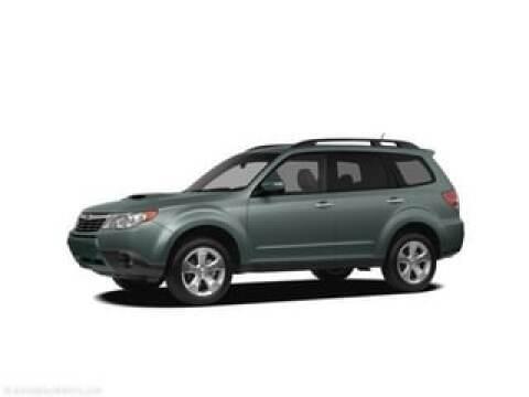 2010 Subaru Forester 2.5X Premium for sale at Ed Shults of Warren CDJR/Subaru in Warren PA