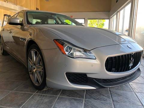 2014 Maserati Quattroporte for sale at Los Primos Auto Plaza in Antioch CA