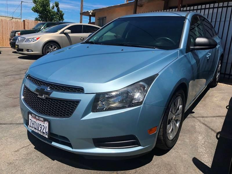 2012 Chevrolet Cruze For Sale At California Auto Outlet In Antioch CA