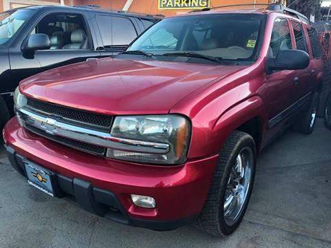 2002 Chevrolet TrailBlazer for sale at Los Primos Auto Plaza in Antioch CA