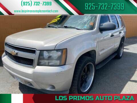 2007 Chevrolet Tahoe for sale at Los Primos Auto Plaza in Antioch CA