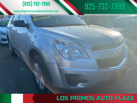 2015 Chevrolet Equinox for sale at Los Primos Auto Plaza in Antioch CA