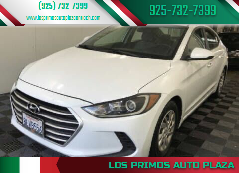2017 Hyundai Elantra for sale at Los Primos Auto Plaza in Antioch CA