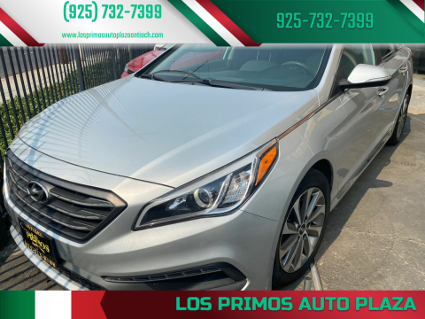 2015 Hyundai Sonata for sale at Los Primos Auto Plaza in Antioch CA