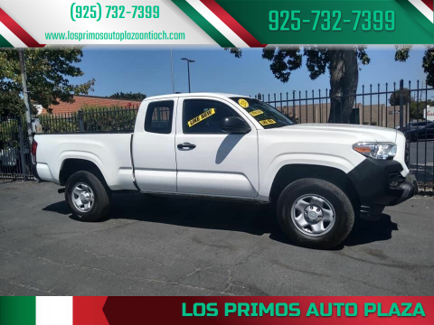 2016 Toyota Tacoma for sale at Los Primos Auto Plaza in Antioch CA