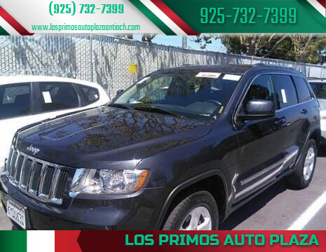 2013 Jeep Grand Cherokee for sale at Los Primos Auto Plaza in Antioch CA