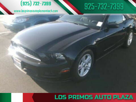 2014 Ford Mustang for sale at Los Primos Auto Plaza in Antioch CA