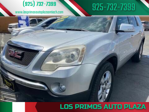 2011 GMC Acadia for sale at Los Primos Auto Plaza in Antioch CA