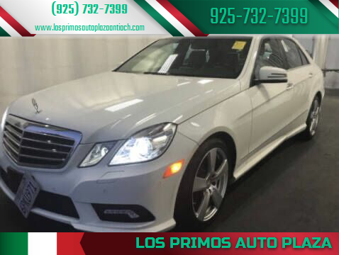 2011 Mercedes-Benz E-Class for sale at Los Primos Auto Plaza in Antioch CA