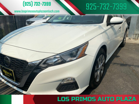 2019 Nissan Altima for sale at Los Primos Auto Plaza in Antioch CA
