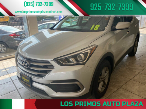 2018 Hyundai Santa Fe Sport for sale at Los Primos Auto Plaza in Antioch CA