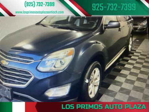 2016 Chevrolet Equinox for sale at Los Primos Auto Plaza in Antioch CA