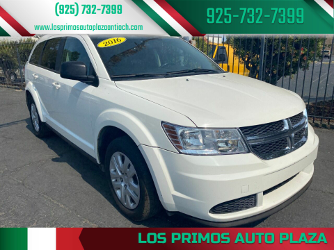 2016 Dodge Journey for sale at Los Primos Auto Plaza in Antioch CA
