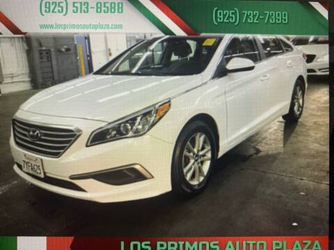 2017 Hyundai Sonata for sale at Los Primos Auto Plaza in Antioch CA