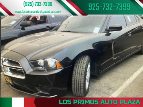2014 Dodge Charger for sale at Los Primos Auto Plaza in Antioch CA