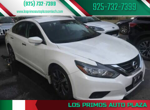 2017 Nissan Altima for sale at Los Primos Auto Plaza in Antioch CA