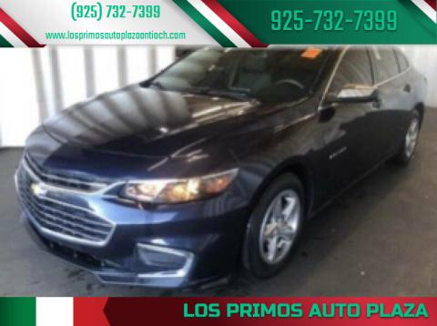 2016 Chevrolet Malibu for sale at Los Primos Auto Plaza in Antioch CA