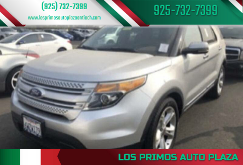 2011 Ford Explorer for sale at Los Primos Auto Plaza in Antioch CA