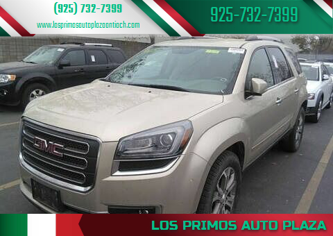 2013 GMC Acadia for sale at Los Primos Auto Plaza in Antioch CA