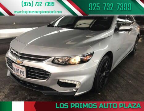 2018 Chevrolet Malibu for sale at Los Primos Auto Plaza in Antioch CA