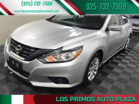 2018 Nissan Altima for sale at Los Primos Auto Plaza in Antioch CA