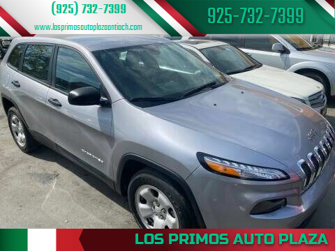 2017 Jeep Cherokee for sale at Los Primos Auto Plaza in Antioch CA