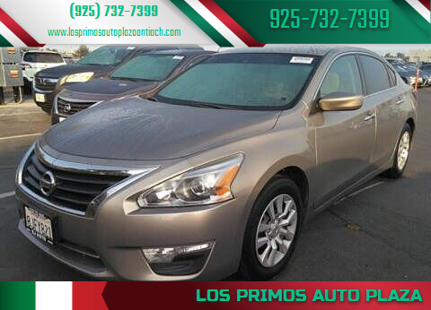 2015 Nissan Altima for sale at Los Primos Auto Plaza in Antioch CA