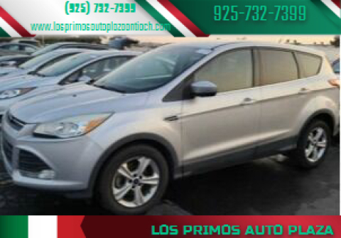 2015 Ford Escape for sale at Los Primos Auto Plaza in Antioch CA