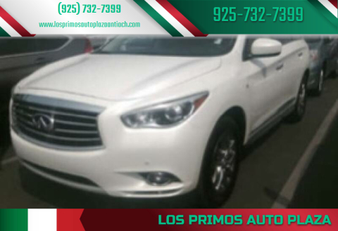 2015 Infiniti QX60 for sale at Los Primos Auto Plaza in Antioch CA