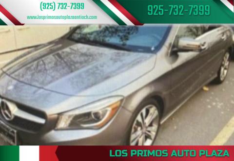 2015 Mercedes-Benz CLA for sale at Los Primos Auto Plaza in Antioch CA