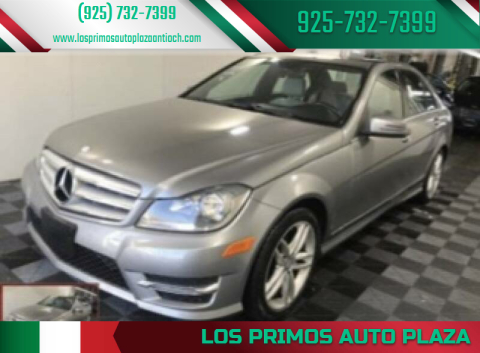 2013 Mercedes-Benz C-Class for sale at Los Primos Auto Plaza in Antioch CA