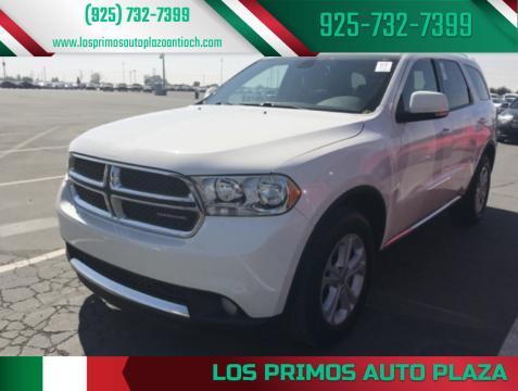 2011 Dodge Durango for sale at Los Primos Auto Plaza in Antioch CA