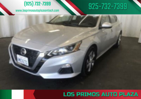 2020 Nissan Altima for sale at Los Primos Auto Plaza in Antioch CA
