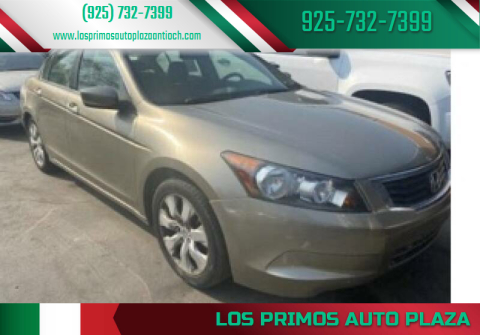 2015 Honda Accord for sale at Los Primos Auto Plaza in Antioch CA