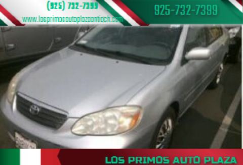 2007 Toyota Corolla for sale at Los Primos Auto Plaza in Antioch CA