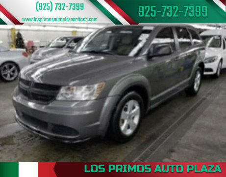 2013 Dodge Journey for sale at Los Primos Auto Plaza in Antioch CA