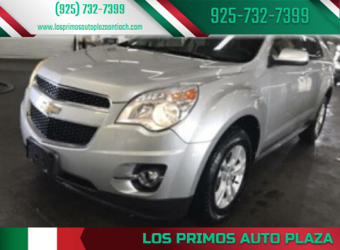 2010 Chevrolet Equinox for sale at Los Primos Auto Plaza in Antioch CA