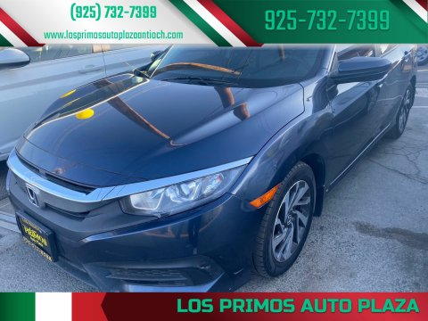 2016 Honda Civic for sale at Los Primos Auto Plaza in Antioch CA