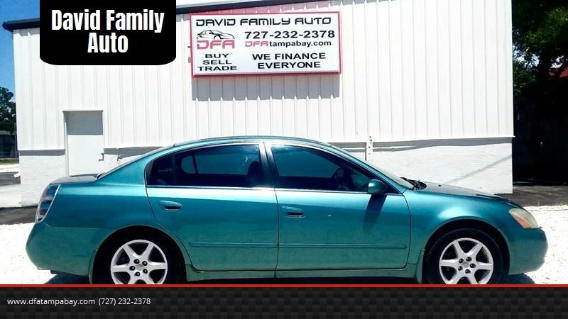 2002 Nissan Altima For Sale At David Family Auto In New Port Richey FL